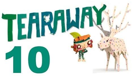 Tearaway PS VITA - 1080P - Let's Play - Part 10 - Down The Lighthouse Chute!
