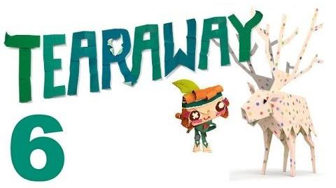 Tearaway PS VITA - 1080P - Let's Play - Part 6 - The Barn, Round 2!