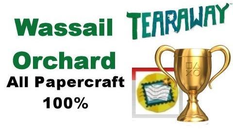 Tearaway PS VITA - 1080P - Wassail Orchard - ALL Papercraft Locations!