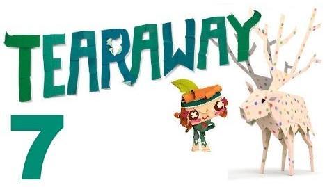 Tearaway PS VITA - 1080P - Let's Play - Part 7 - Pink Leopard Print Elk!