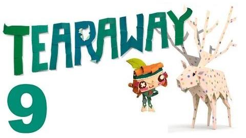 Tearaway PS VITA - 1080P - Let's Play - Part 9 - A Have A Minion...