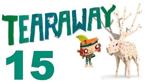Tearaway PS VITA - 1080P - Let's Play - Part 15 - I Made Fire!