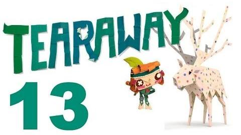Tearaway PS VITA - 1080P - Let's Play - Part 13 - Into The Lab!