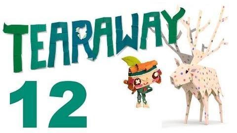 Tearaway PS VITA - 1080P - Let's Play - Part 12 - WARNING, Wendigo!