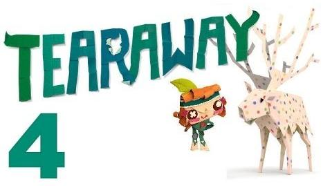 Tearaway PS VITA - 1080P - Let's Play - Part 4 - Scarecrow Needs A Head!