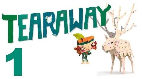Tearaway PS VITA - 1080P - Let's Play - Part 1 - The World Of Tearaway!