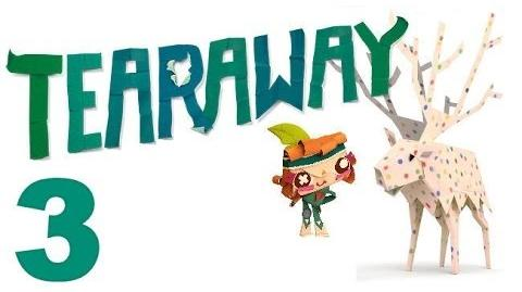 Tearaway PS VITA - 1080P - Let's Play - Part 3 - Ride Monocle Pig!
