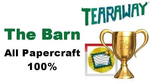 Tearaway PS VITA - 1080P - The Barn - ALL Papercraft Locations!