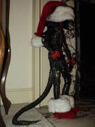 Alien-santa