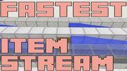 Fastest Item Transportation in Minecraft