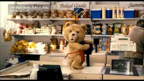 Ted movie casher scene