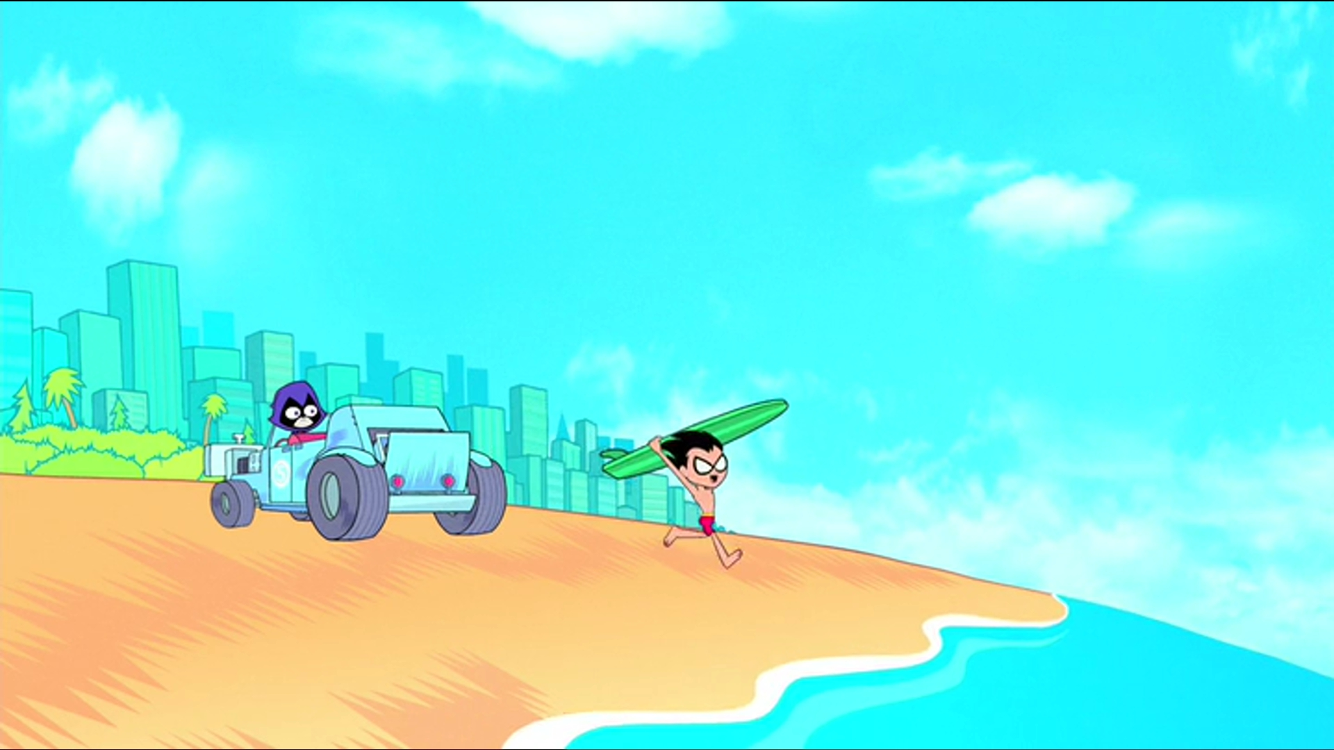 Jump City Beach