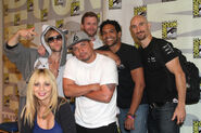 Greg Cipes, Tara Strong, Khary Payton, Scott Menville, Mix Master Mike SDCC 2013