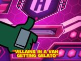 Villains in a Van Getting Gelato