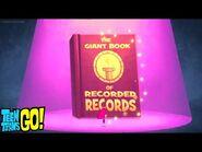 The Record Book - Teen Titans Go! - Record Book