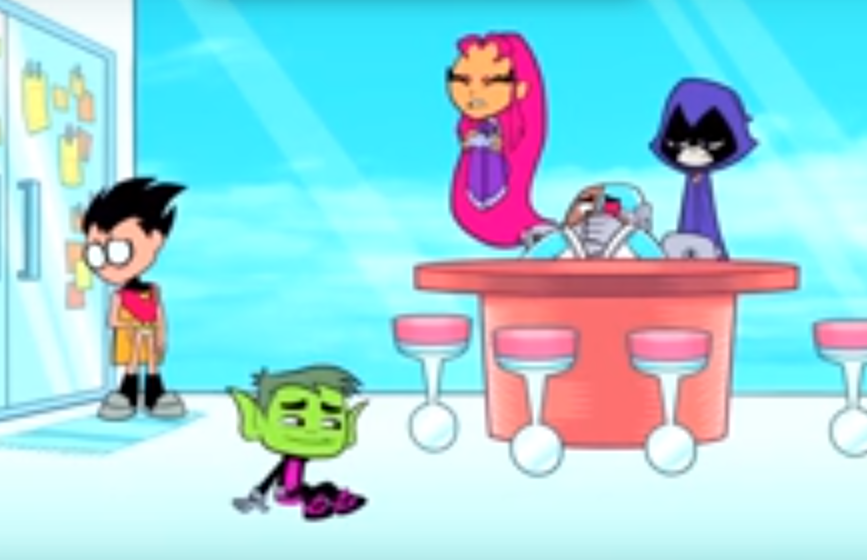 Beast Boy's St. Patrick's Day Luck, and It's Bad/Gallery
