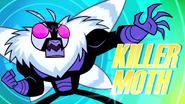 The streak killer moth