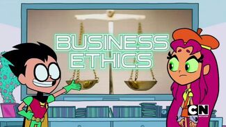 Click here to view more images from Business Ethics Wink Wink.