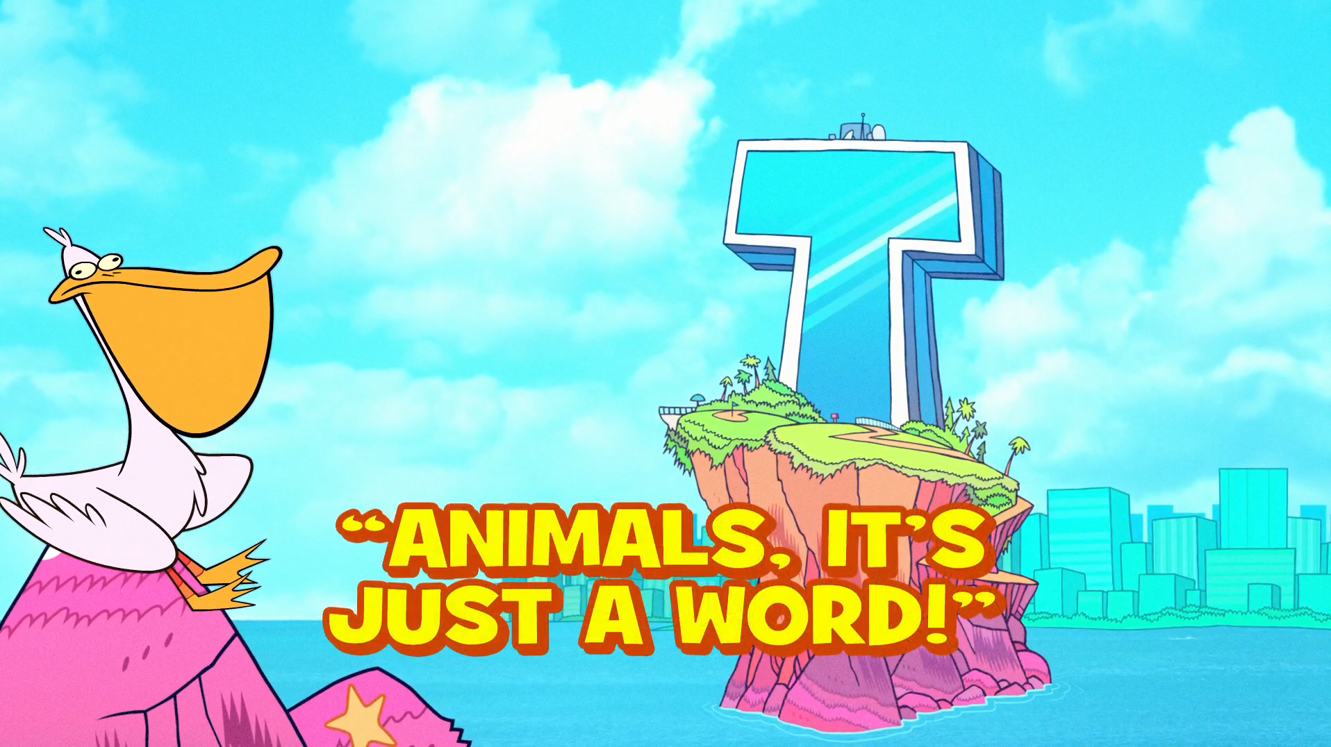 Animals, It's Just a Word!
