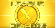 League of Legs backdrop