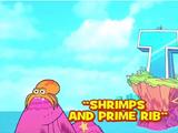 Shrimps and Prime Rib