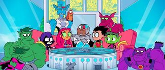 Click here to view more images from Teen Titans Go! See Space Jam!.