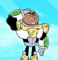 Green Cyborg Profile