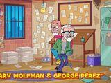 Marv Wolfman and George Pérez