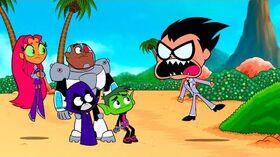 """Teen_Titans_Go!_-_""""Crazy_Desire_Island""""_Clip_1"""