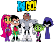 Teen titans go team photo by imperial96-d6839mr