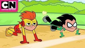 Teen_Titans_Go_Robin_Kicks_Out_the_Flash_Cartoon_Network
