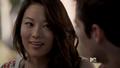 Kira nervous smile