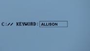4x04 KEYWORD ALLISON