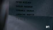 4x09 Lydia adds Stiles name to deadpool