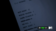 4x09 names are crossed off