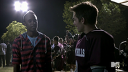 4x05 Mason and Liam at lacrosse game