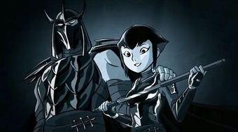 Vater-Tochter Schwanz Ninja [Hahn Ninja