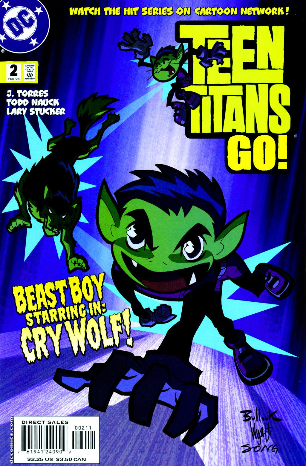 The Beast Boy Who Cried Wolf