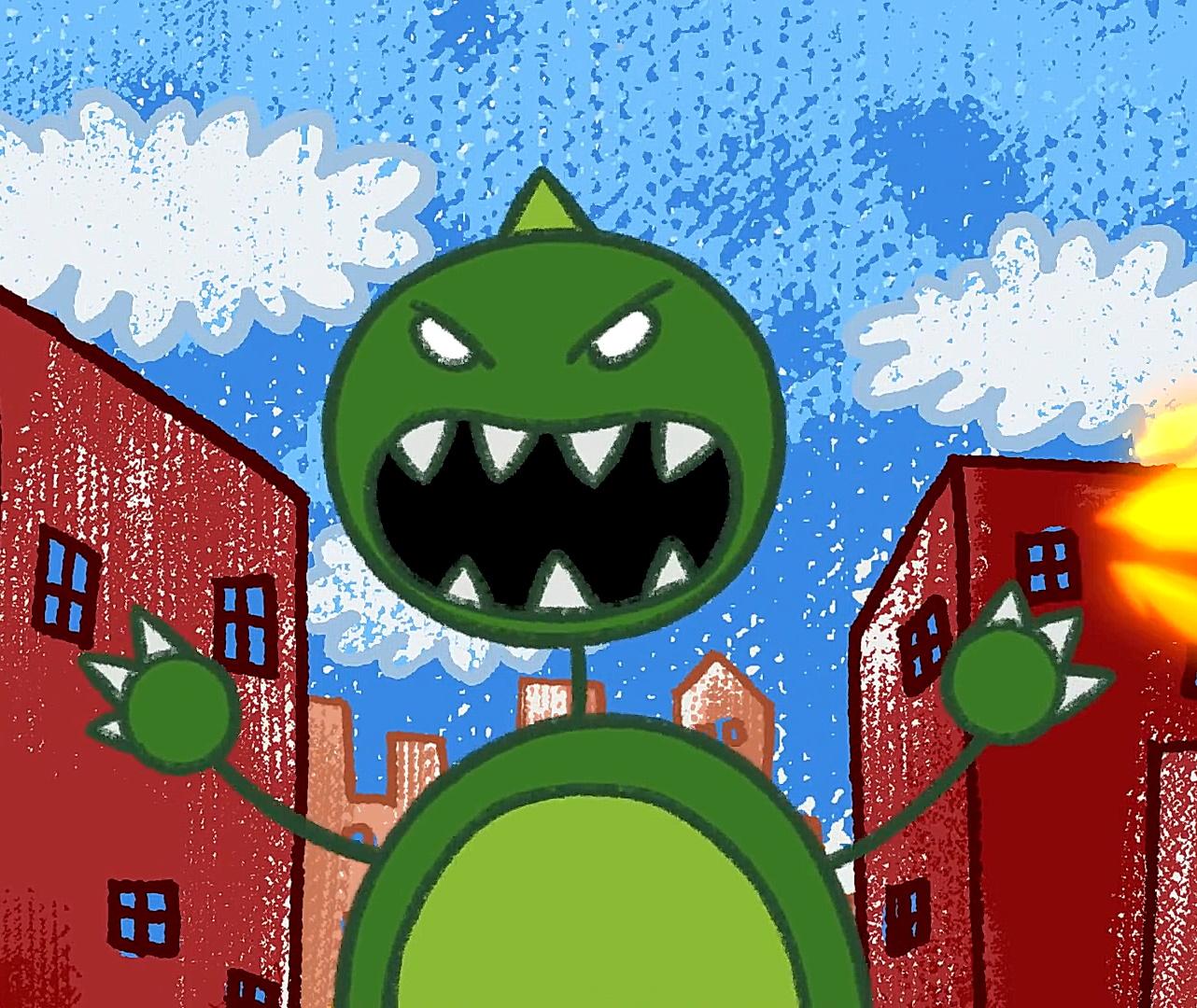Giant Monster (Larry's World)