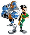 Cyborg&Robin (Michael Zeck)