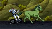 Beast Boy as Horse
