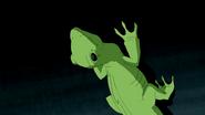 Beast Boy as Lizard