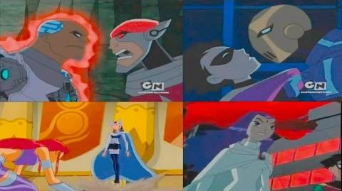 Teen Titans defeat their villains