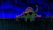 Beast Boy as Apatosaurus