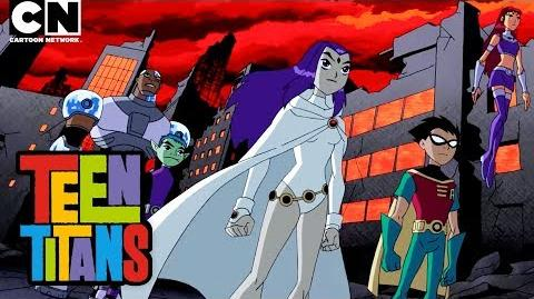 Teen Titans Raven vs. Trigon Cartoon Network