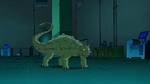 Beast Boy as Ankylosaurus