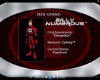 10. Billy Numerous