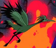 Beast Boy as Crane