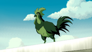 Beast Boy as Rooster