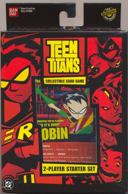 Teen Titans Collectible Card Game